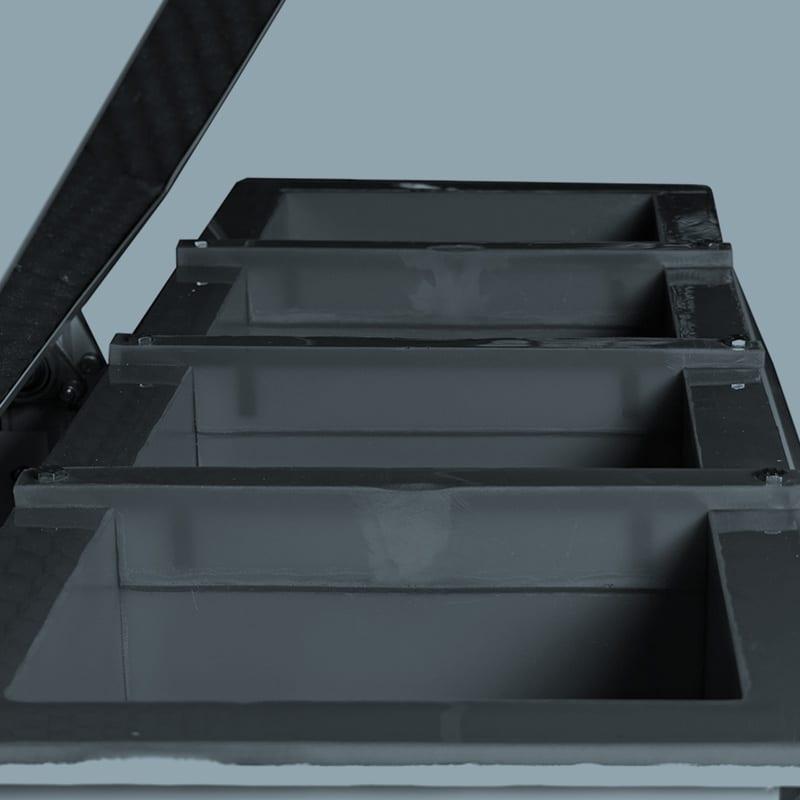 TU Series Divider Plates Close-up