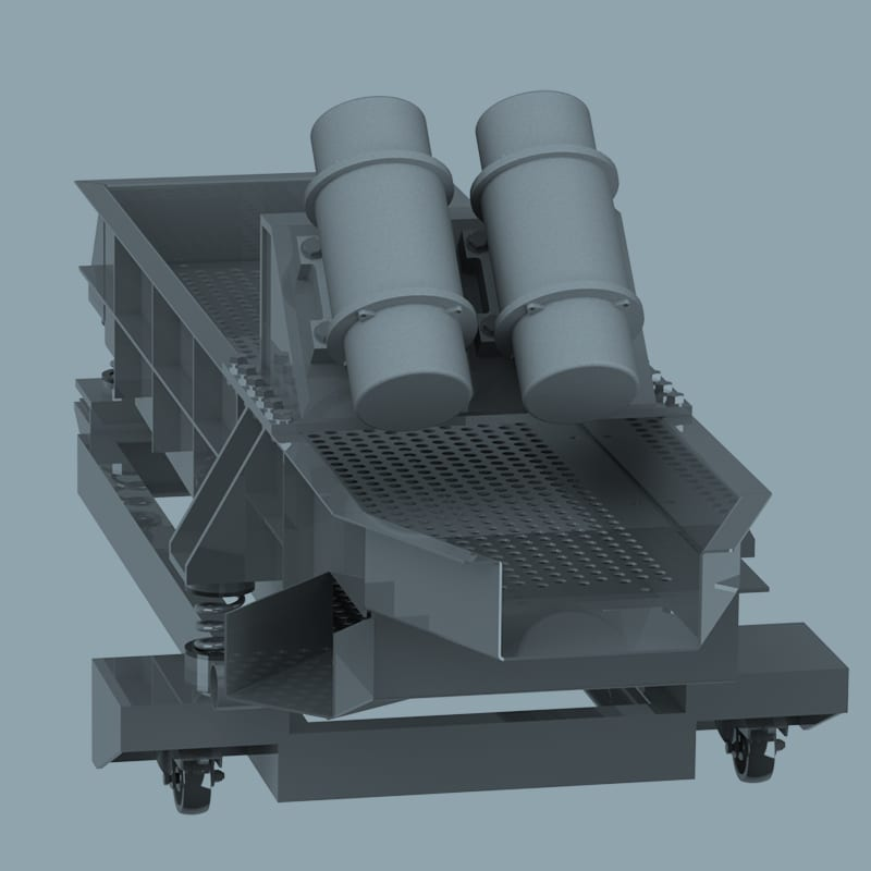 Vibratory Separation System - Vibratory Finishing