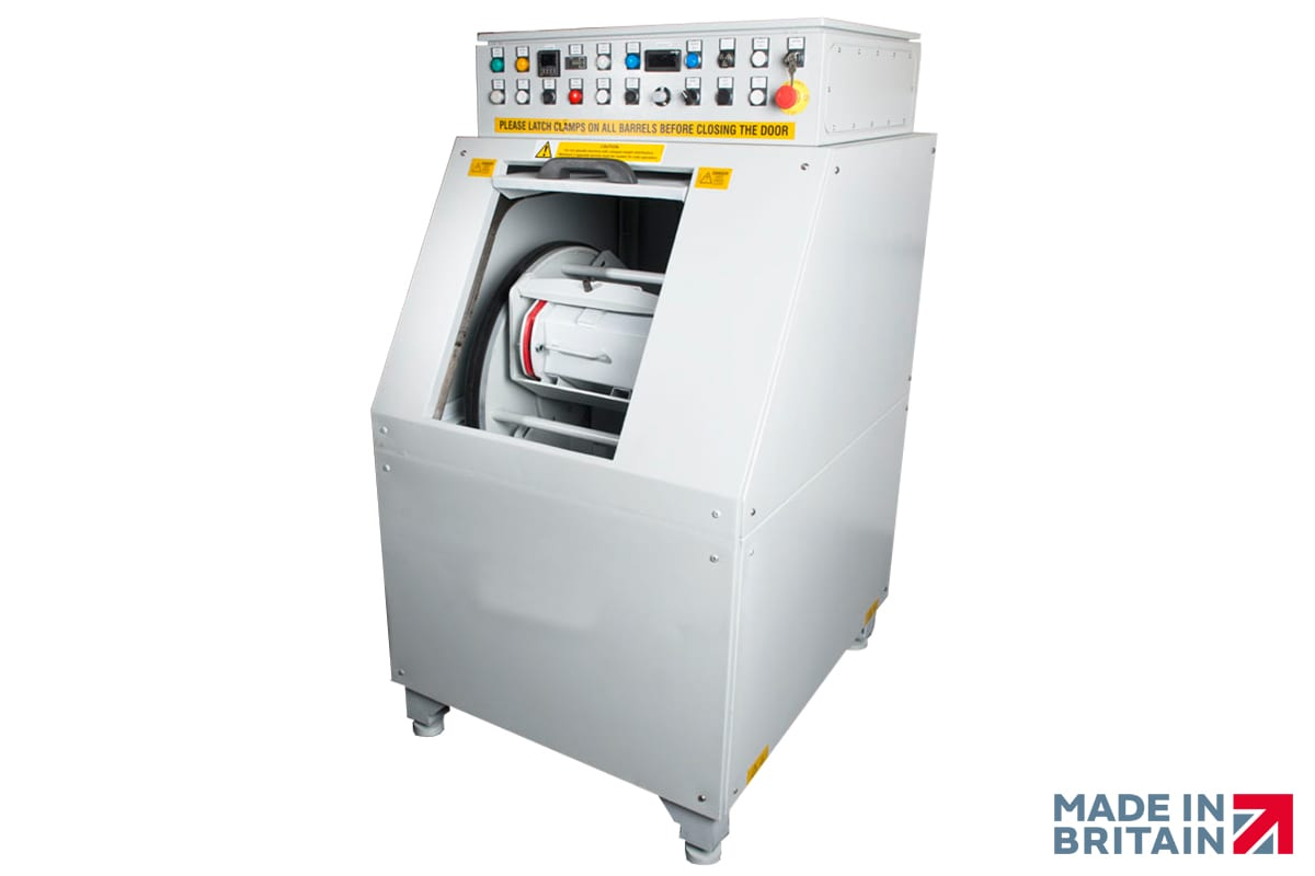 Efficient Centrifugal High Energy Finishing Machines available from ActOn Finishing.