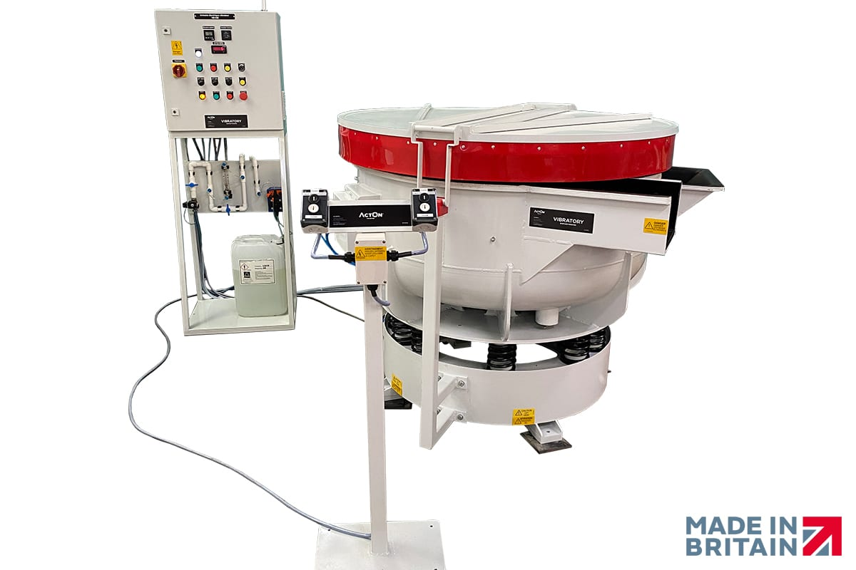 High quality vibratory machines from ActOn Finishing