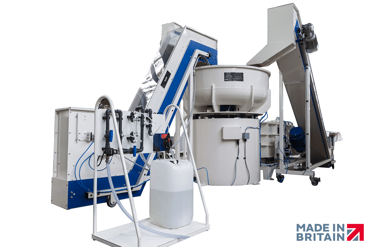 Vibratory Finishing Bowl Machine System