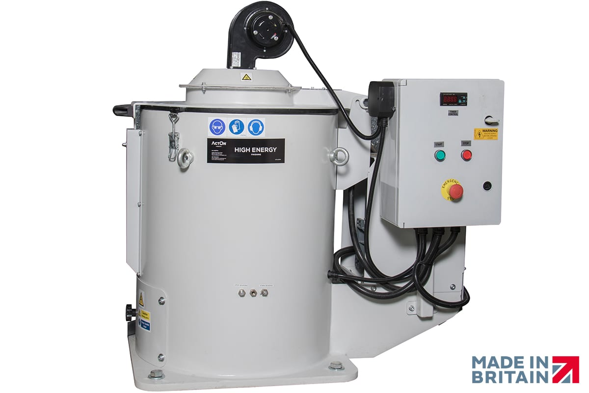 Discover our Unique Mass Finishing Dryers at ActOn Finishing.
