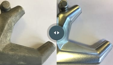 Axle Holder before and after