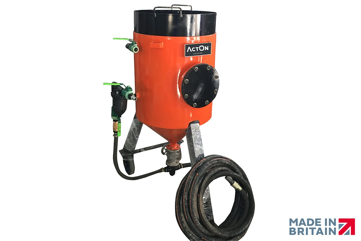 Robust Portable Blast Cabinets from ActOn Finishing.