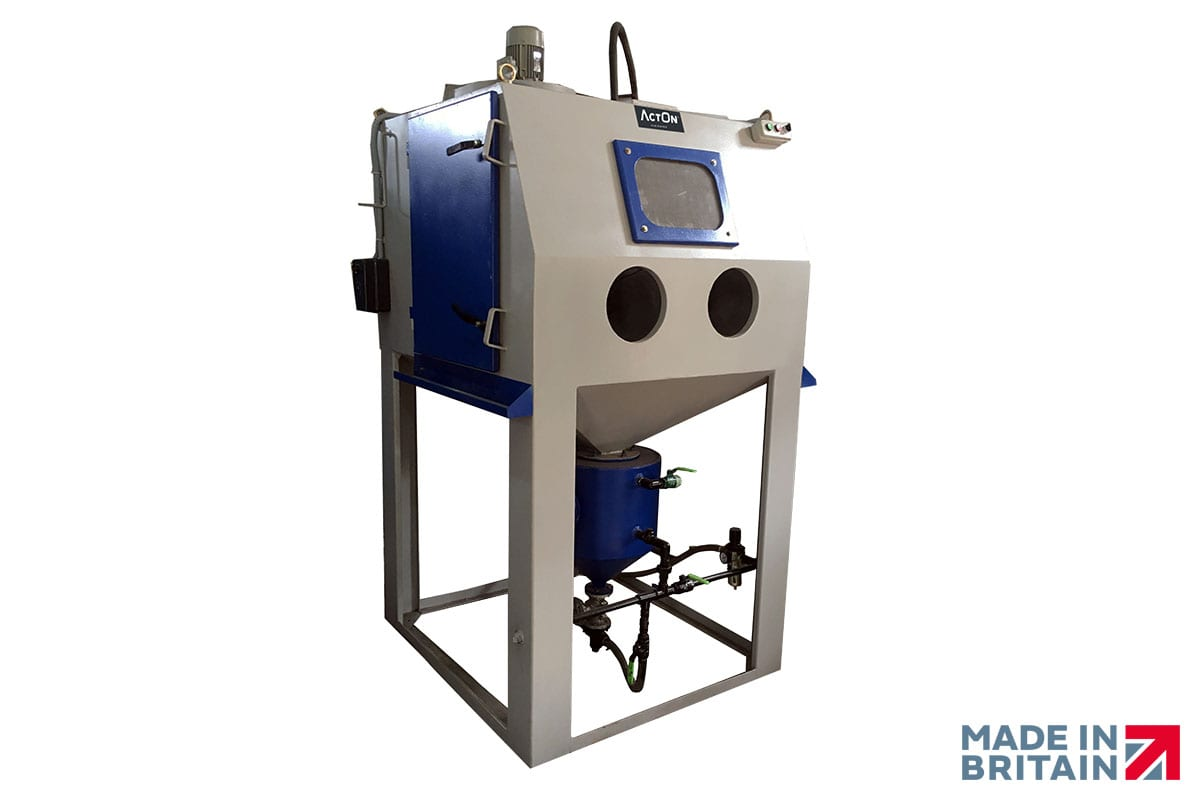 High-Quality Pressure Blast Cabinets from ActOn Finishing.