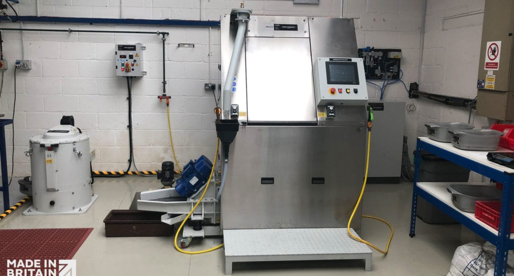 ActOn High Energy Finishing Process Enables Client to Deburr 10000 Parts per Hour