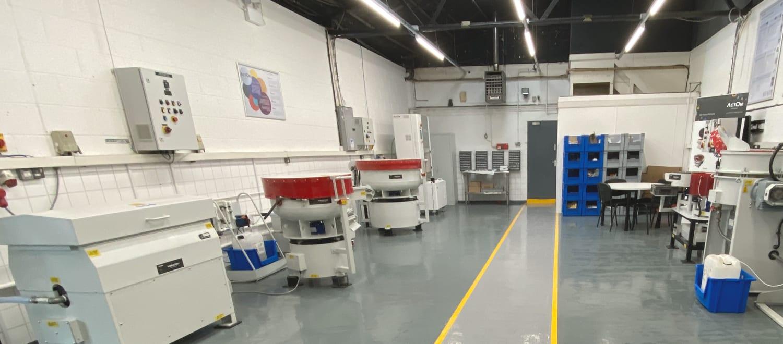 ActOn Finishing Test Lab