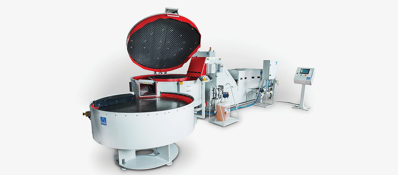 ActOn Finishing's vibratory machinery