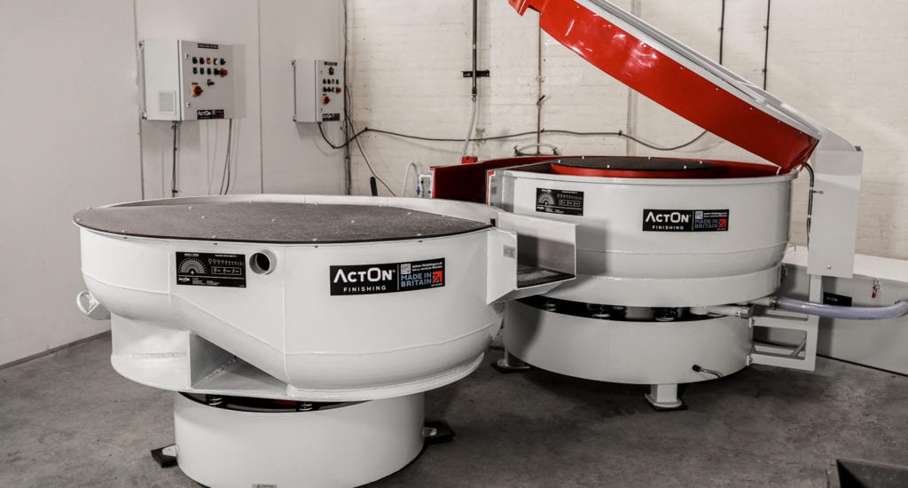 Discover how ActOn Finishing's vibratory machinery works, from troughs and bowls to dual machines and dryers, by reading our latest blog.