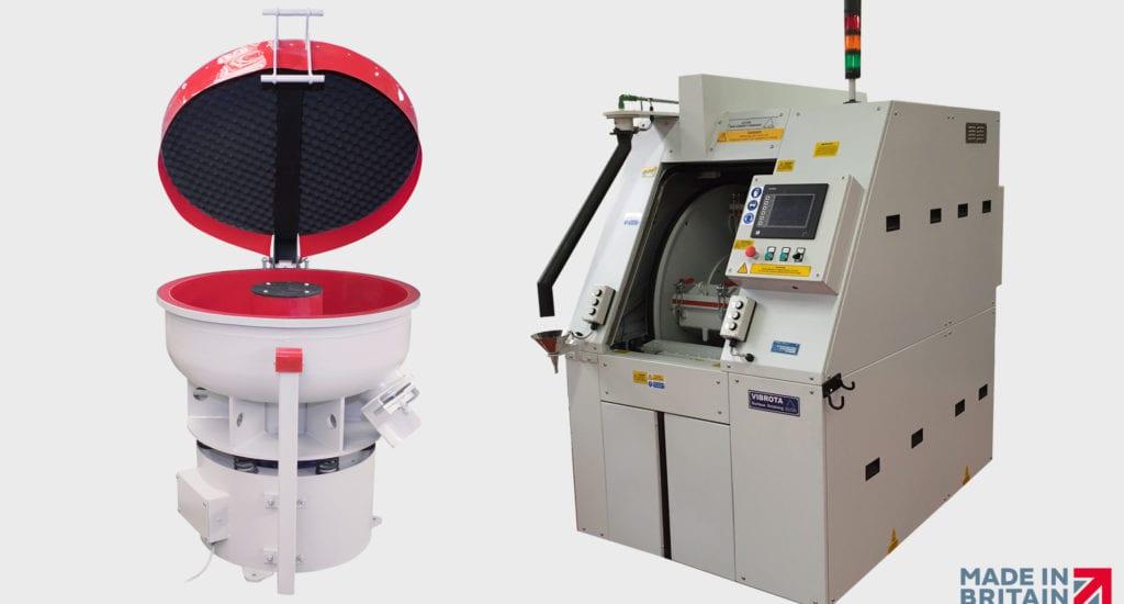 Choosing a surface finishing machine: CHE Finishing or Vibratory Finishing?