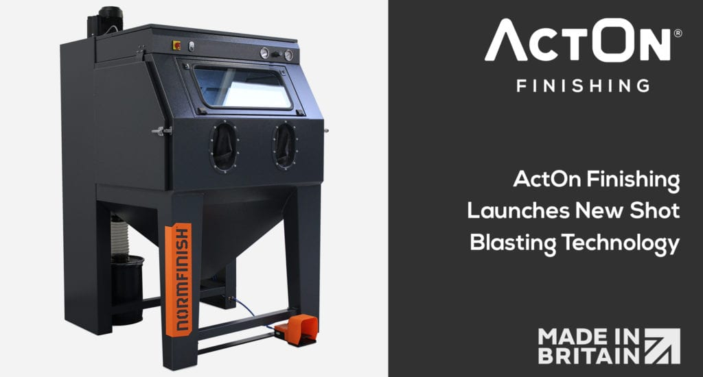 Discover our new range of shot blasting systems, which includes portable blast machines, suction blast, pressure blast and wet blast cabinets