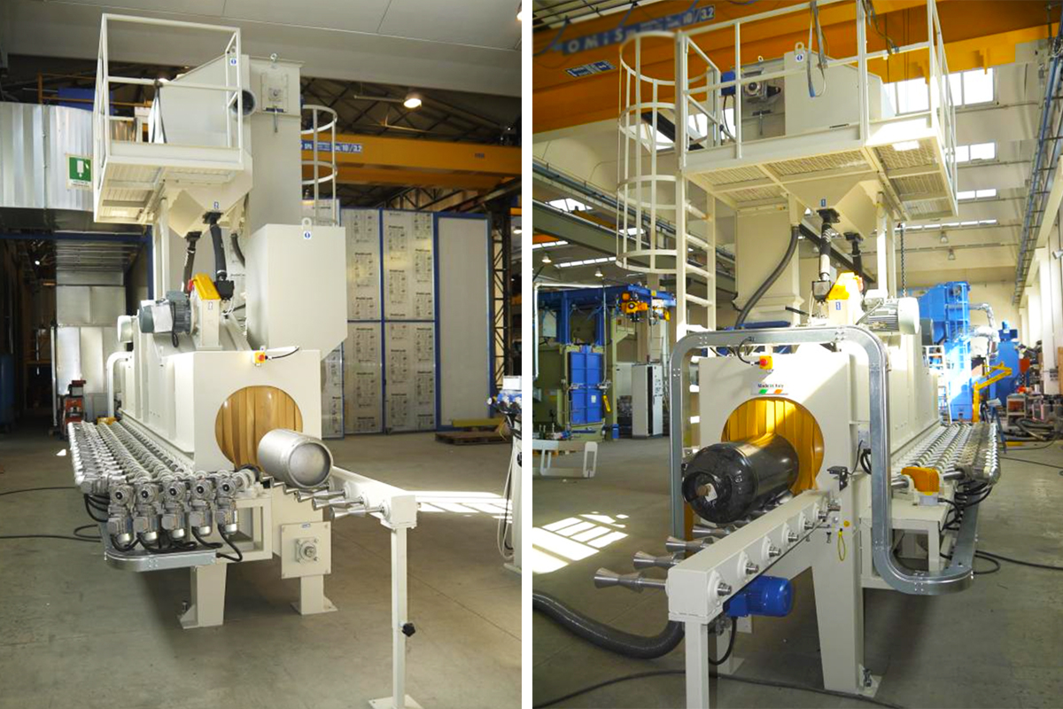 High-Quality Continuous feed tube & bar blast cleaning machines from ActOn Finishing.