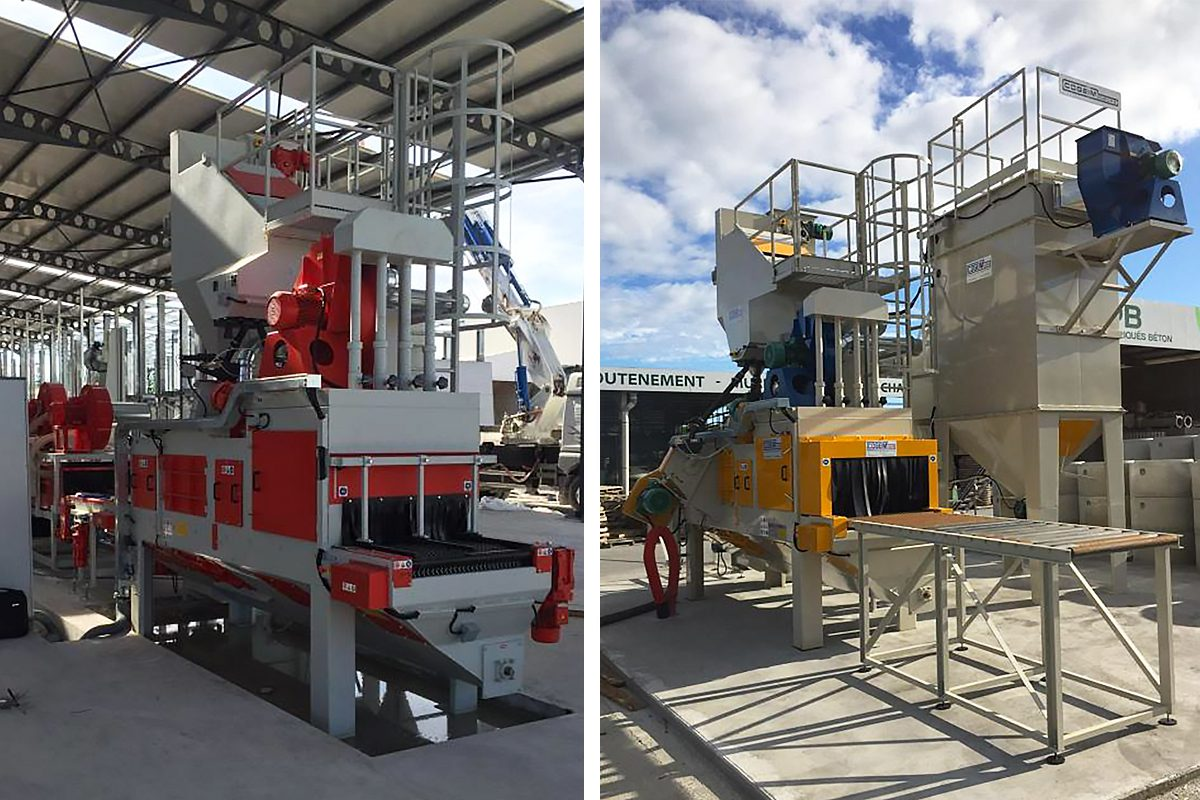 Robust Tunnel Concrete Shot Blast Machine from ActOn Finishing.