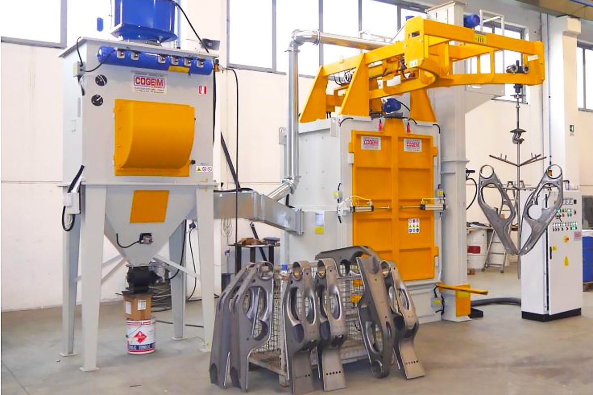 High-Quality Spinner Hanger Blast Machines from ActOn Finishing.