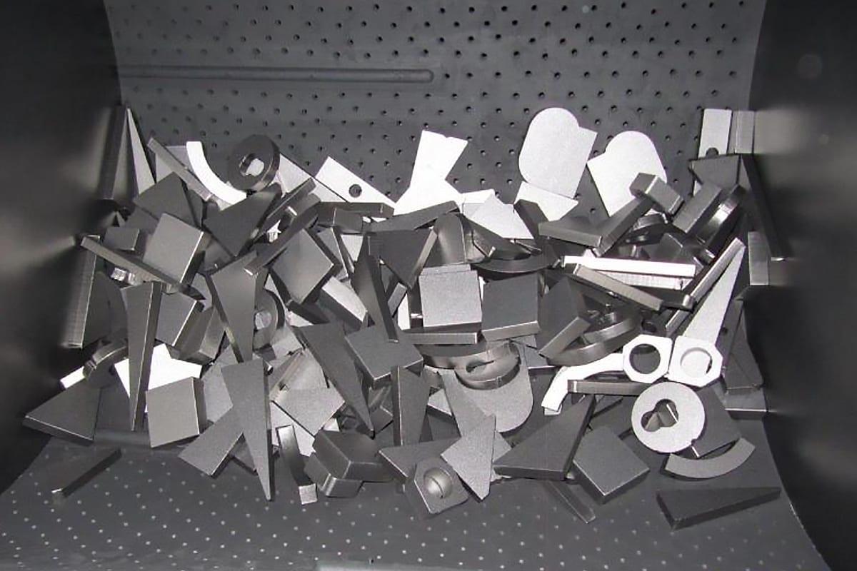 Affordable Tumble Rubber Belt Shot Blasting Machines from ActOn Finishing.