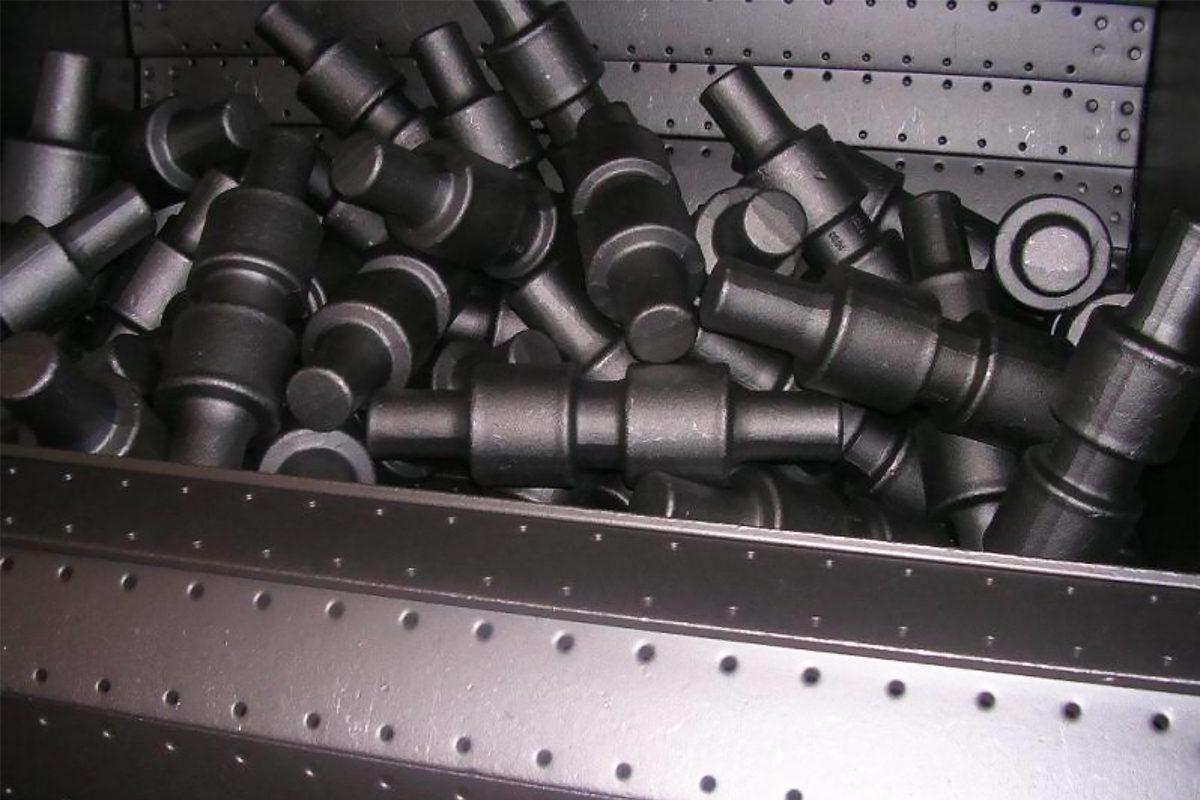 High-Quality Tumble Steel Belt Shot Blasting Machine from ActOn Finishing.